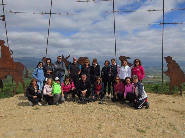 Finde La UPNA da comienzo a una actividad para recorrer el Camino de Santiago baztanés a pie