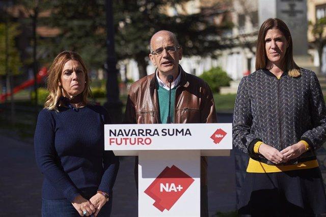 """28A.- Navarra Suma Muestra Su Compromiso Con El Canal De Navarra Frente A La """"Injustificable Dilación Del Cuatripartito"""""""
