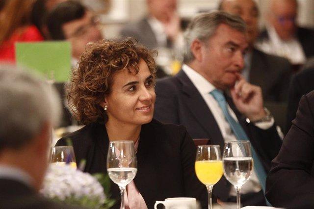 """Montserrat assenyala que combatrà a Europa el """"relat fake"""" independentista i destaca la llista """"europeista"""" del PP"""