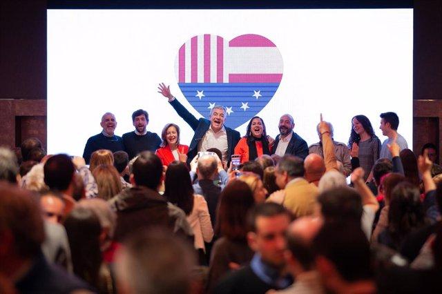 Acte De Campanya De Ciutadans A Barcelona