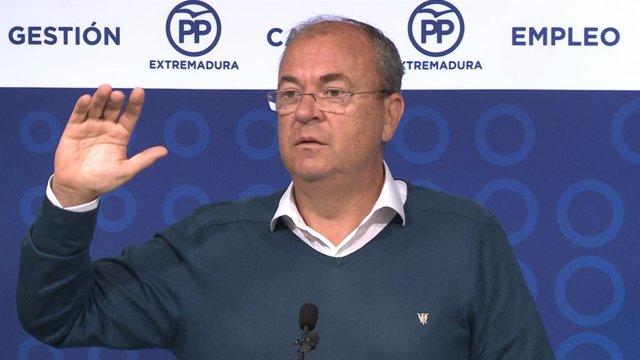 ++eptv: Monago dice que las cifras de paro de la legislatura obedecen a la marcha de jóvenes y a la contratación pública