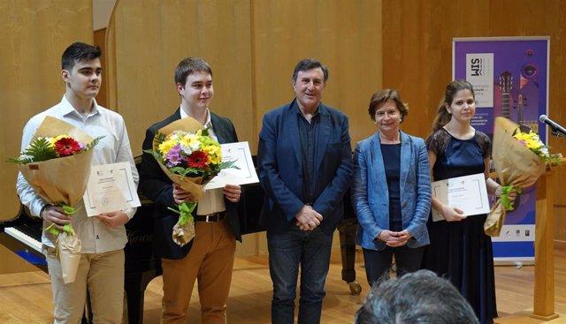Entregados los Premios Extraordinarios de Enseñanzas Profesionales de Música