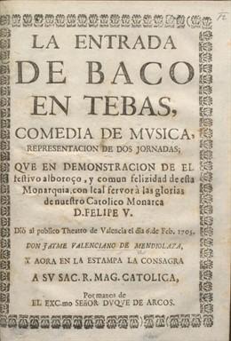 """Cultura.- Una investigadora halla el libreto de """"la primera muestra conocida"""" de teatro lírico en València"""