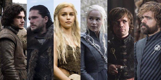 DOM PARTE 1 Juego de tronos: Así han cambiado sus protagonistas en 8 temporadas