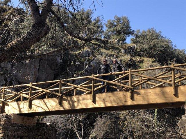 """La Risca de Valdeprados (Segovia) ofrece """"mejoras"""" en un recorrido que es Lugar de Interés Geológico"""