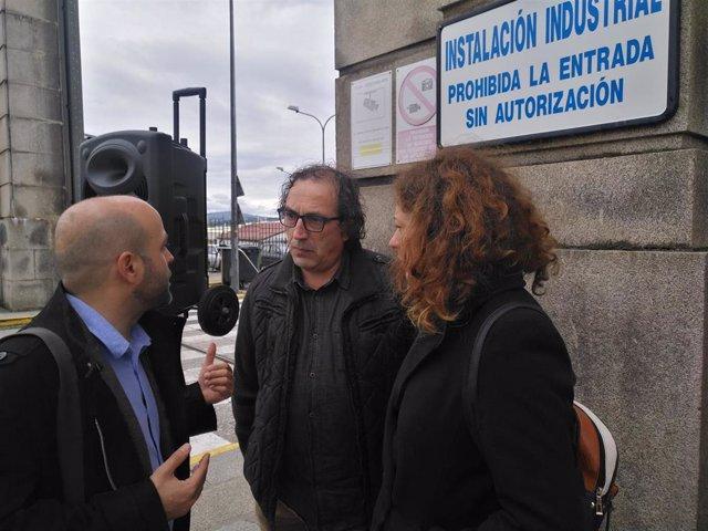 """Villares (En Marea) propone en un mitin en Ferrol """"completar todo el ciclo productivo de eólica marina"""" en esta comarca"""
