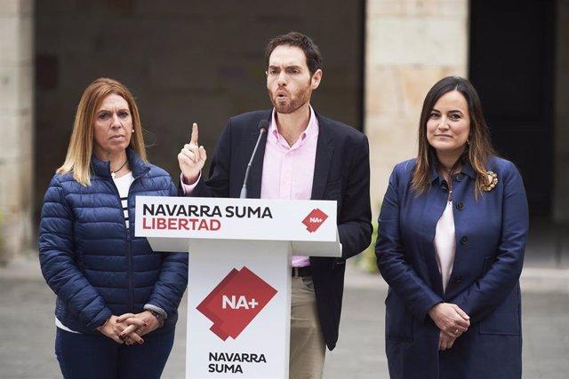 """28A.- Sayas Afirma Que Navarra Suma """"Es La Única Opción Política Que Defiende La Convivencia Y La Identidad De Navarra"""""""