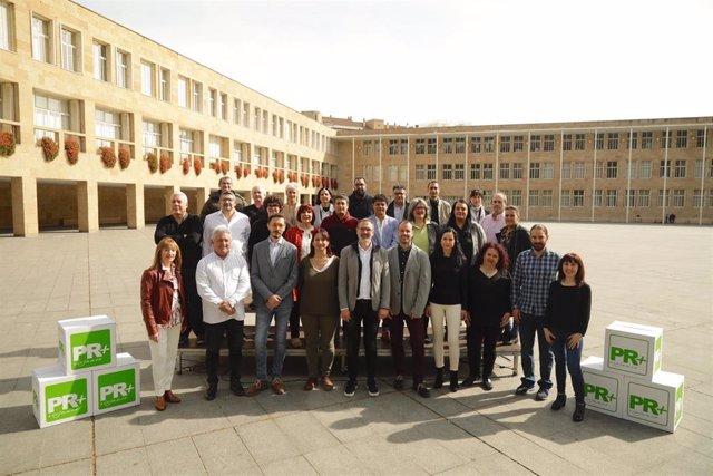 """El Partido Riojano presenta """"la mejor candidatura para gobernar el Ayuntamiento de Logroño a partir del 26 de mayo"""""""