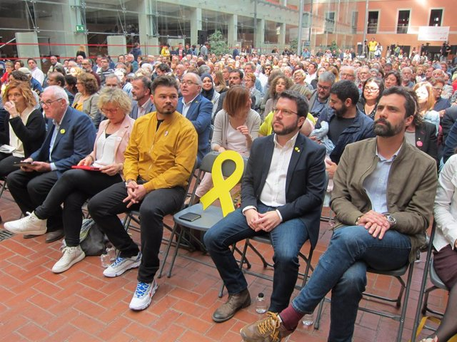 """28A.- Nuet i Alamany defensen el seu fitxatge per ERC: """"Una aliança per un país nou"""""""