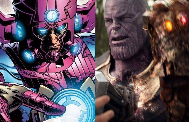 PARA DOMINGO Vengadores Endgame: ¿Thanos chasqueó los dedos para detener a Galactus?