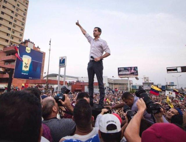 Guaidó descarta una intervención militar en Venezuela