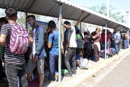 Unos 3.000 migrantes centroamericanos ponen rumbo a Estados Unidos desde Chiapas