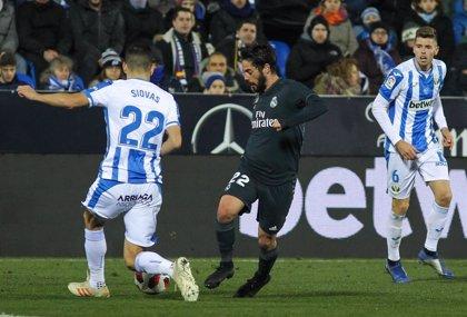 El Real Madrid persigue la segunda plaza ante un crecido Leganés