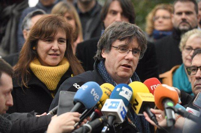 """28A.- Puigdemont: El """"Indispensable"""" Per Pactar Després del 28A És Reconèixer L'Autodeterminació"""
