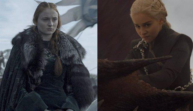 Sansa Stark y Daenerys Targaryen: ¿El gran duelo de la 8º temporada de Juego de Tronos?