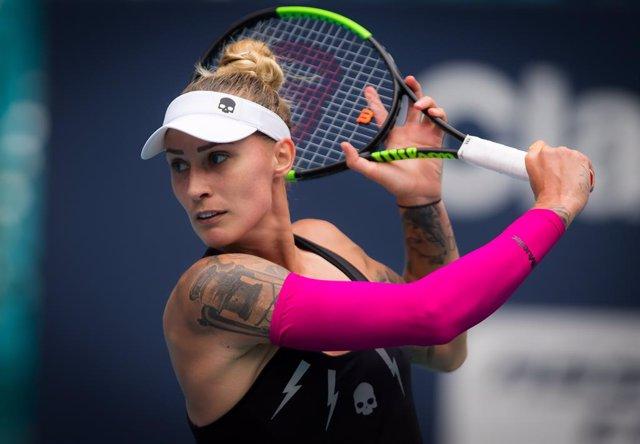 Tenis.- La eslovena Polona Hercog logra el título en Lugano