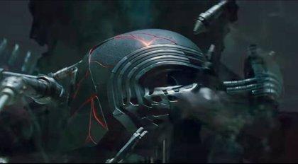 Nueva imagen del casco de Kylo Ren en Star Wars: The Rise of Skywalker