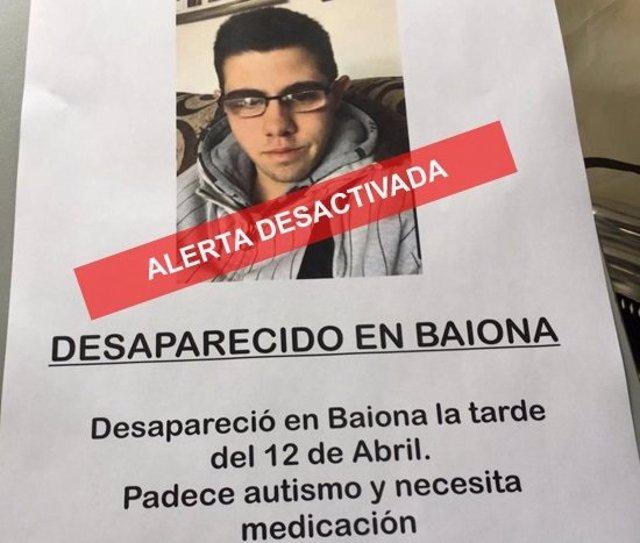 Aparece en perfecto estado de salud y con su padre en Portugal el joven que buscaban desde el viernes en Baiona