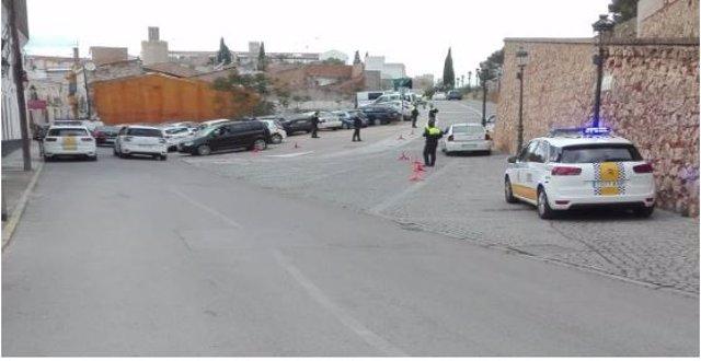 Sucesos.- Denunciados seis conductores en Badajoz por alcoholemia positiva
