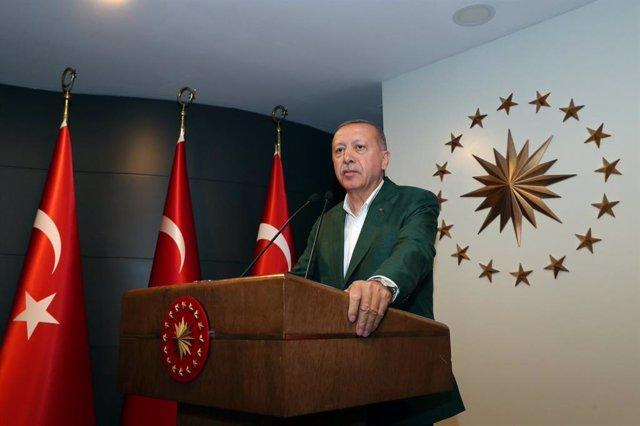 Turquía.- El AKP de Erdogan reclama la repetición de las elecciones en Estambul
