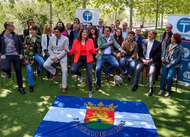 """26M.- Arnao Y Diez Ex Militantes De IU Aspiran Con 'Ahora Talavera' A """"Poner En Pie"""" A La Ciudad De La Ceramíca"""
