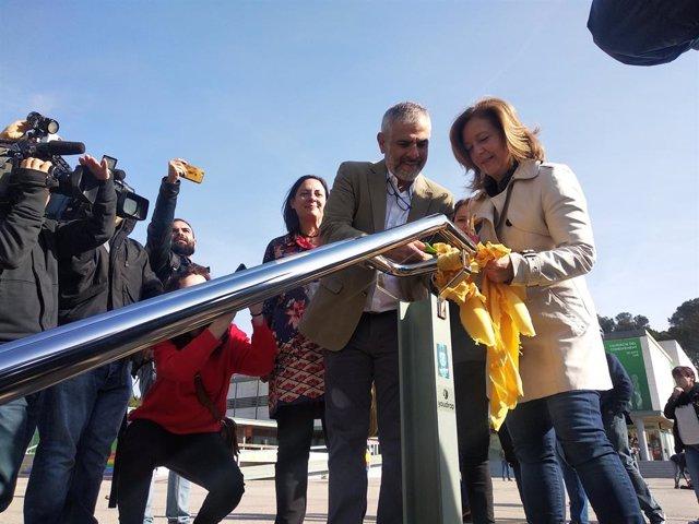 Av.- 28A.- Cs retira llaços grocs de la UAB i denúncia a la Fiscalia l'escrache a Álvarez de Toledo