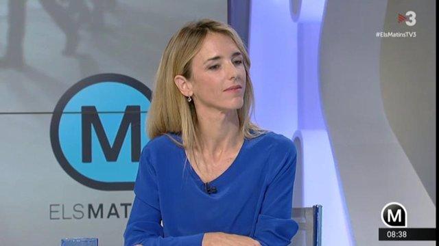"""28.- Álvarez De Toledo Asegura Que TV3 """"Participa Activamente En Un Golpe A La Democracia"""""""