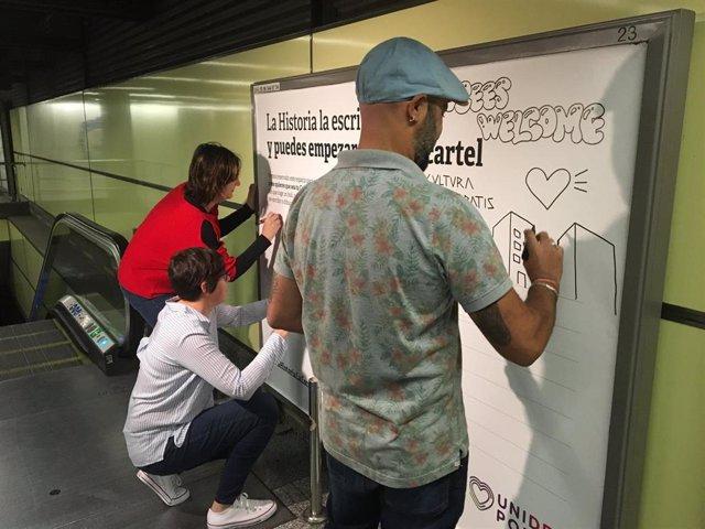 """28A.- Unides Podem-EUPV Invita A Los Valencianos A Decir """"Qué Comunitat Quieren"""" Y Anima A Los Indecisos A Participar"""