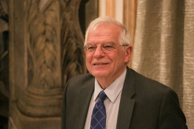 "Josep Borrell en el ""2019 European Think Tank Summit"""