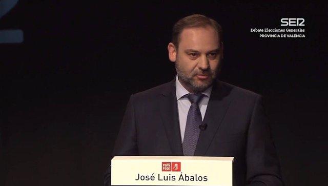 """28A.- Ábalos Insiste En Que El PSOE Quiere Gobernar En Solitario: """"No Tenemos Ningún Planteamiento De Pacto Con Nadie"""""""