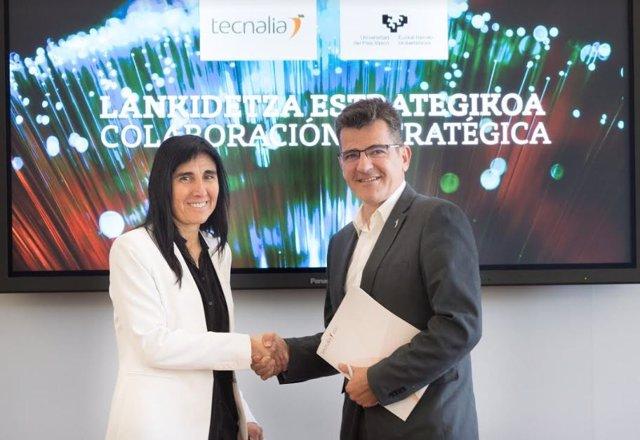 La UPV/EHU y Tecnalia prevén incrementar un 10% en 2019 su producción científica conjunta