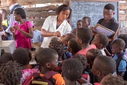 Los niveles de vacunación infantil se reducen en gran parte de África