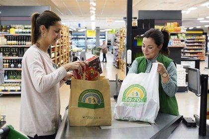 Mercadona elimina las bolsas de plástico de un solo uso de todas sus tiendas