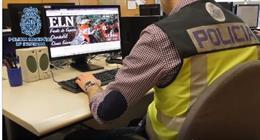 Sucesos.- La Policía desarticula el órgano de comunicación del Ejército de Liberación Nacional colombiano