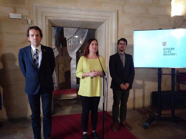 El Govern propone dobles enlaces eléctricos entre Baleares y la Península y entre islas