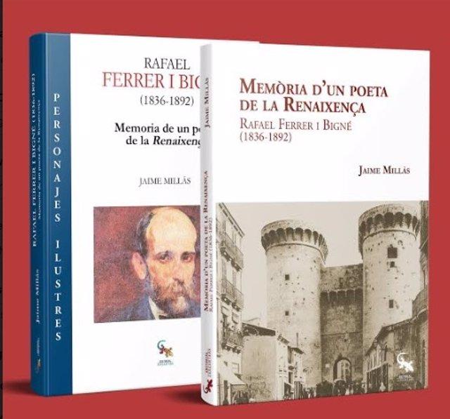 """Cultura.- Un libro recupera la memoria de Ferrer i Bigné, """"el más desconocido de los impulsores de la Renaixença"""""""