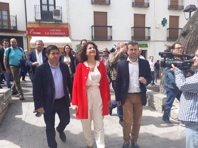 """28A.- Montero Defiende La Libertad De Expresión Y Llama A Las Formaciones Políticas A Crear """"Un Clima De Entendimiento"""""""
