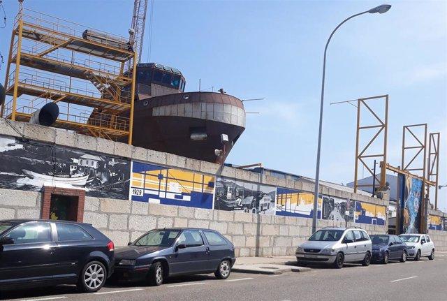 El astillero Cardama