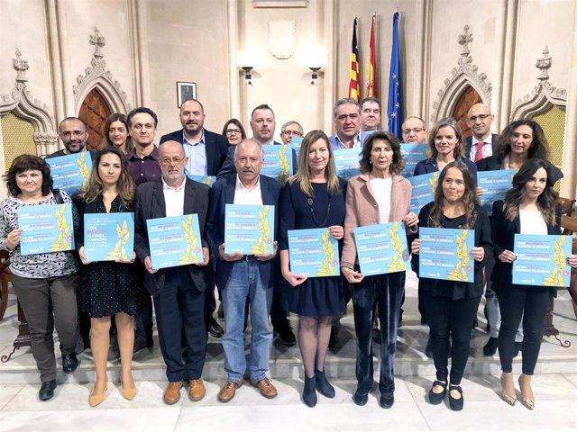 Organizaciones empresariales de Mallorca desarrollarán acciones contra el consumo de alcohol en menores