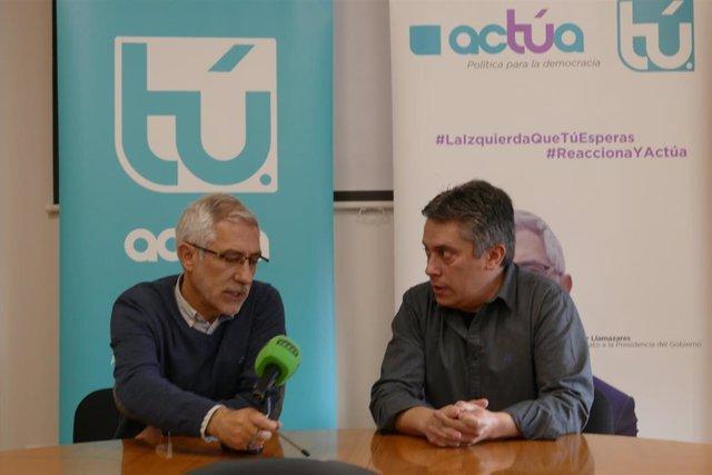 """28A.- Llamazares Dice Que Actúa Es La Izquierda No Representada Tras """"La Disolución De IU En Podemos"""""""