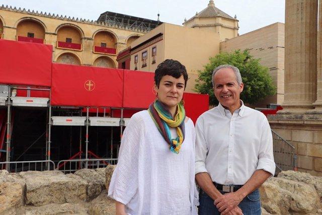 """Córdoba.- S.Santa.- Ganemos Córdoba critica que los palcos """"privatizan"""" la Semana Santa y """"amenazan"""" a la Mezquita"""