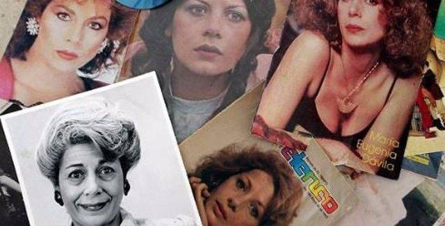 María Eugenia Dávila, la actriz colombiana que pasó del estrellato a pedir limosna por su adicción a las drogas