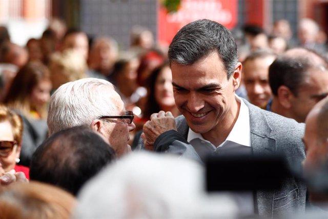 VÍDEO: Economía.- Sánchez promete seguir actualizando las pensiones según el IPC y revitalizar el sistema de dependencia