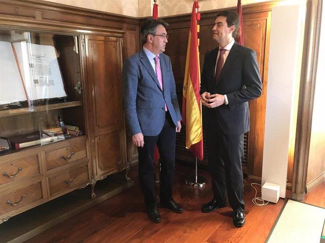 Martínez Majo insiste en la necesaria colaboración de las instituciones para frenar la despoblación