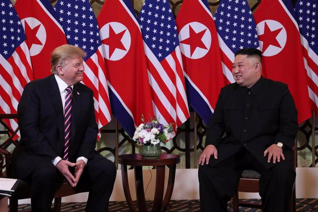 Corea.- Trump asegura que ha ordenado la retirada de sanciones adicionales relativas a Corea del Norte