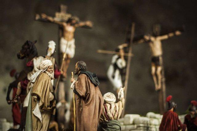 La Iglesia de San Martín de Plasencia ofrece la exposición 'Octo Dies' sobre la Semana Santa