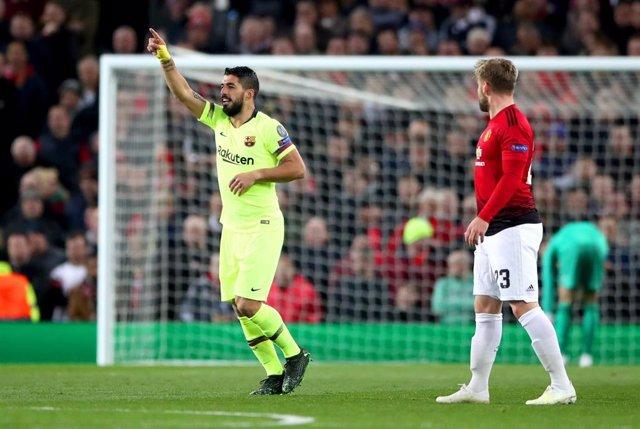 UEFA Champions League - Manchester United vs Barcelona
