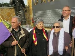 Neus Català, en un acto