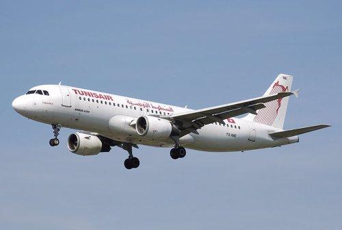 Avión de Tunisair