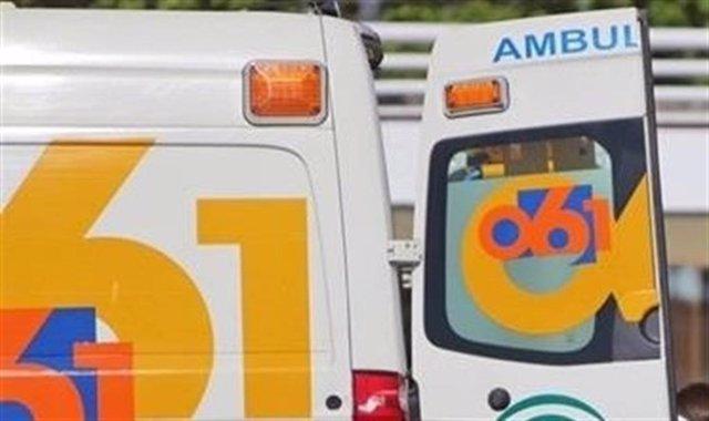 Málaga.- Sucesos.- La colisión de dos turismos en la capital se salda con siete heridos trasladados al hospital